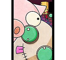 Gir and Pig Photographic Print