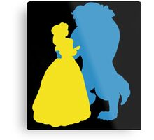 Beauty and a beast Metal Print