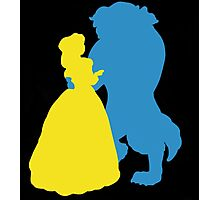 Beauty and a beast Photographic Print