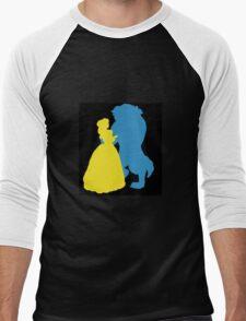 Beauty and a beast Men's Baseball ¾ T-Shirt