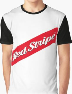 RED STRIPE BEER LAGER Graphic T-Shirt