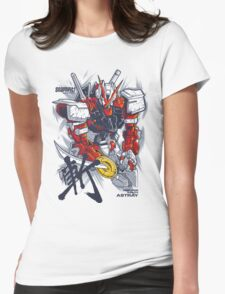 Astray RedFrme Womens Fitted T-Shirt