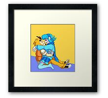 Happy Hugs Framed Print