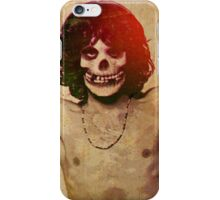 THE MISFITS JIM MORRISON Mash Up (Vintage/black) iPhone Case/Skin