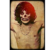 THE MISFITS JIM MORRISON Mash Up (Vintage/black) Photographic Print
