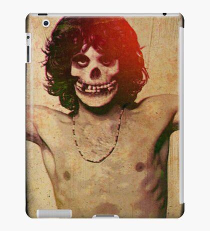 THE MISFITS JIM MORRISON Mash Up (Vintage/black) iPad Case/Skin
