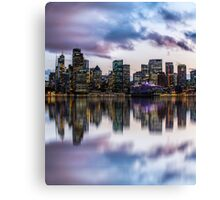 Clouds over Circular Quay Canvas Print