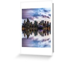 Clouds over Circular Quay Greeting Card