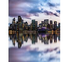 Clouds over Circular Quay Photographic Print