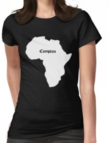 Compton Womens Fitted T-Shirt