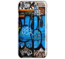 Graffiti door art iPhone Case/Skin