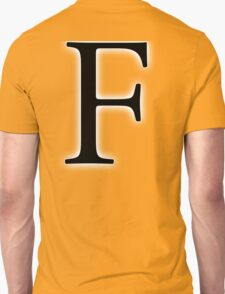 F, Alphabet Letter, ef, EFF, Foxtrot, Frank, A to Z, 6th Letter of Alphabet, Initial, Name, Letters, Tag, Nick Name T-Shirt