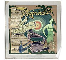 Regeneration Retro Affiche Poster