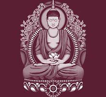 Gautama Buddha White Halftone Unisex T-Shirt