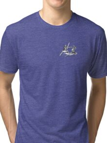 Tarkus vs Artorias Tri-blend T-Shirt