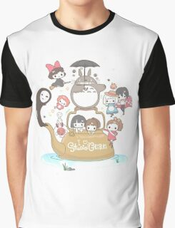 Studio Ghibli Family Graphic T-Shirt