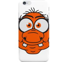 face head ugly disgusting old man grandpa monster troll gnome ork oger iPhone Case/Skin