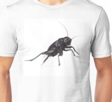 Black insect and red eyes Unisex T-Shirt