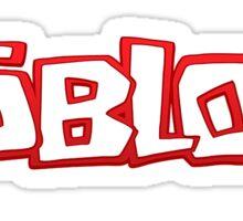 roblox duvet  Sticker