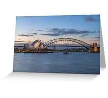 Landmarks of Sydney Greeting Card