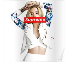 Iggy Azalea Supreme Custom Art Poster