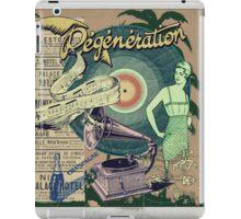 Regeneration Retro Affiche iPad Case/Skin