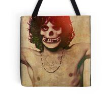 THE MISFITS JIM MORRISON Mash Up (Vintage/black) Tote Bag