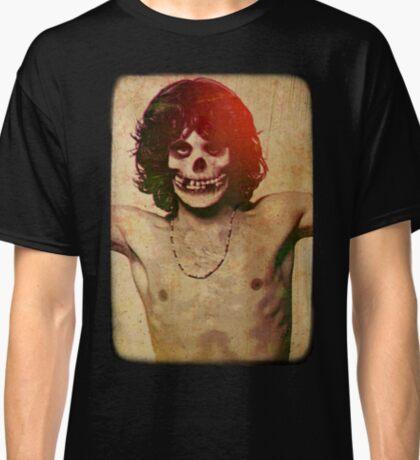 THE MISFITS JIM MORRISON Mash Up (Vintage/black) Classic T-Shirt