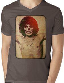 THE MISFITS JIM MORRISON Mash Up (Vintage/black) Mens V-Neck T-Shirt