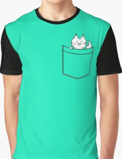 Cat in Your pocket Graphic T-Shirt