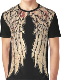 The Walking Dead, Daryl Dixon inspired Wings Graphic T-Shirt