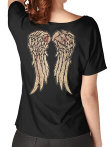 The Walking Dead, Daryl Dixon inspired Wings Women's Relaxed Fit T-Shirt