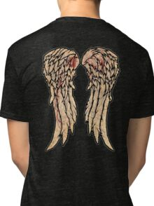The Walking Dead, Daryl Dixon inspired Wings Tri-blend T-Shirt