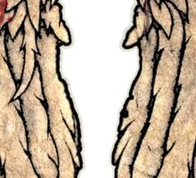The Walking Dead, Daryl Dixon inspired Wings Sticker