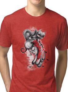 The Black Cat Tri-blend T-Shirt