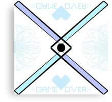: : Game Over : : Canvas Print