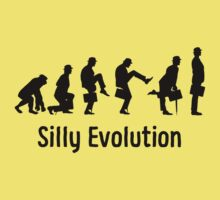 Python Silly Walk Evolution T Shirt Baby Tee