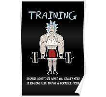 Rick Sanchez Training Poster