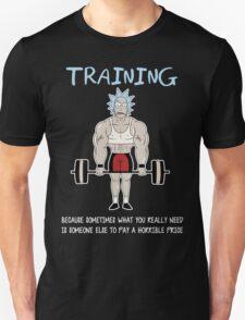 Rick Sanchez Training T-Shirt