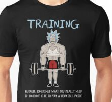 Rick Sanchez Training Unisex T-Shirt
