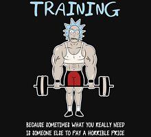 Rick Sanchez Training Unisex T-Shirt