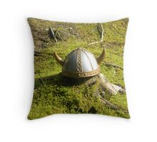 The lost Viking Throw Pillow