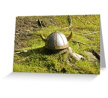 The lost Viking Greeting Card