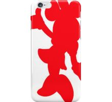 Red Minnie Mouse  iPhone Case/Skin