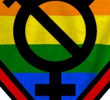 Super Gay Hero _ symbol version Sticker
