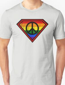 SUPER GAY HERO _peace & love version T-Shirt