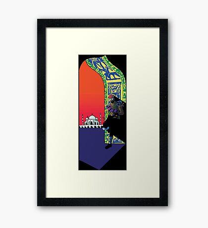 Major Lazer Framed Print