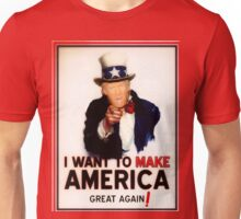 Donald Trump Wants You to Help Make America Great Again! Unisex T-Shirt