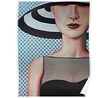 hat girl Poster