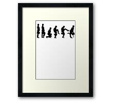 Ministry of Silly Walks T Shirt Framed Print